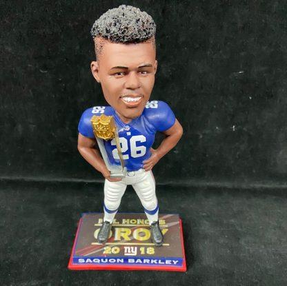 New York Giants Saquon Barkley Forever Bobblehead