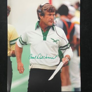 Philadelphia Eagles Dick Vermeil Autographed 11 x 14