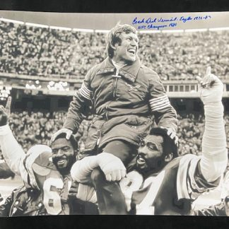 Philadelphia Eagles Dick Vermeil Autographed 16 x 20