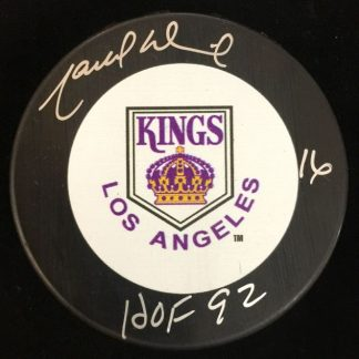 Los Angeles Kings Marcel Dionne Autographed Puck