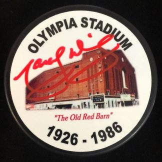 Olympia Stadium Marcel Dionne Autographed Puck