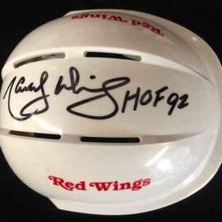 Detroit Red Wings Marcel Dionne Autographed Mini Helmet