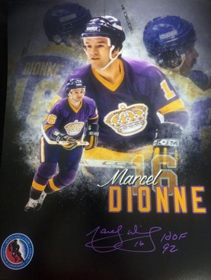 Hall of Famer Marcel Dionne Autographed Photo