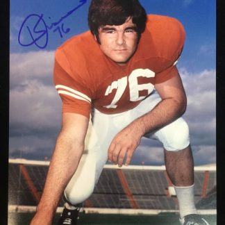 Texas Jerry Sisemore Autographed Photo