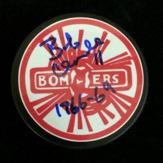 Flin Flon Bombers Bob Clarke Autographed Photo