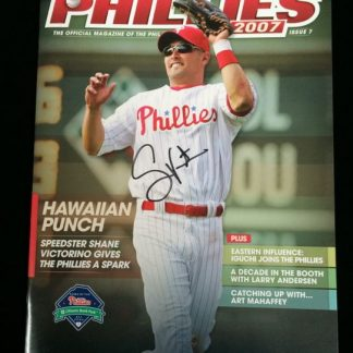 Philadelphia Phillies 2007 Program