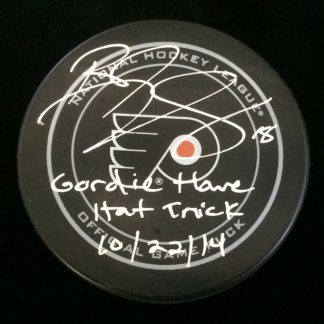 Philadelphia Flyers RJ Umberger Autographed Puck