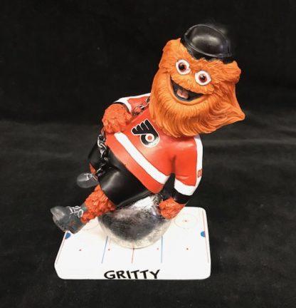 Philadelphia Flyers Gritty Wrecking Ball Bobble Head