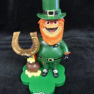 Philadelphia Flyers Gritty St. Pattys Day Bobble