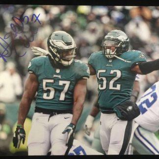 Philadelphia Eagles Dannell Ellerbe Autographed Photo