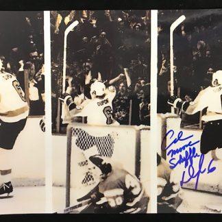 Philadelphia Flyers Andre Dupont Autographed 8x10 Photo