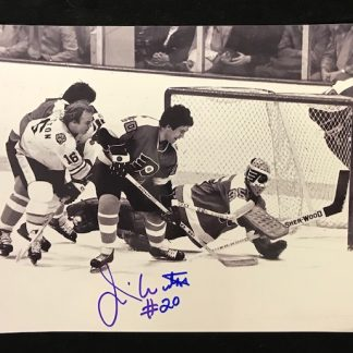 Philadelphia Flyers Jim Watson Autographed 8x10 Photo