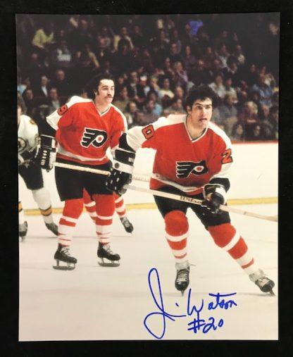 Philadelphia Flyers Jim Watson Autographed 8x10 Photo