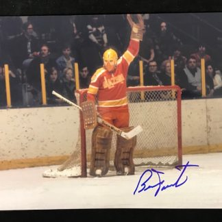 Philadelphia Blazers Bernie Parent Autographed 8x10 Photo