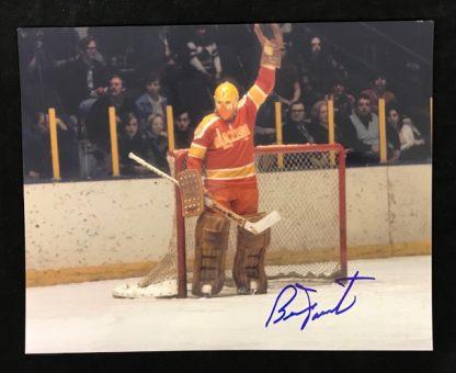 Philadelphia Blazers Bernie Parent Autographed 8x10 Photo