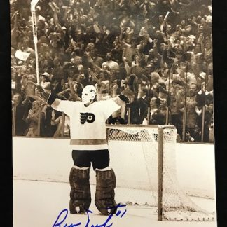 Philadelphia Flyers Bernie Parent Autographed 8x110 Photo