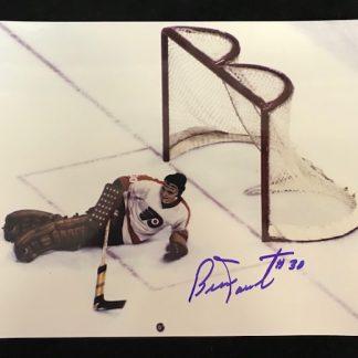 Philadelphia Flyers Bernie Parent Autographed 8x10 Photo