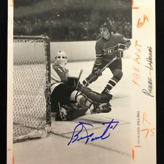 Philadelphia Flyers Bernie Parent Autographed 8x10 Photo
