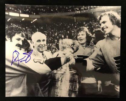 Philadelphia Flyers Bernie Parent Autographed 8x10 Phot