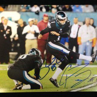 Philadelphia Eagles Cody Parkey & Donnie Jones Autographed Photo