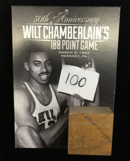 Philadelphia 76ers Wilt Chamberlain 100 Point Game Giveaway