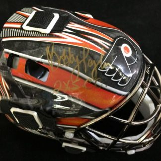 Philadelphia Flyers Bobby Taylor Autographed Mini Mask
