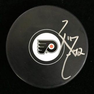 Philadelphia Flyers Rob Zepp Autographed Puck