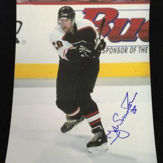 Philadelphia Flyers Kjell Samuelsson Autographed Photo