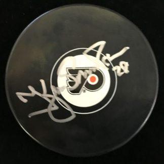 Philadelphia Flyers Kjell Samuelsson Autographed Puck