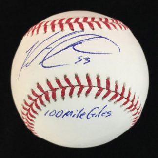 Philadelphia Phillies Ken Giles Autographed Baseball