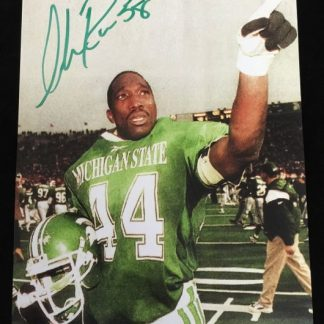 Michigan State Spartans Ike Reese Autographed Photo