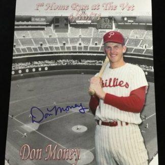 Philadelphia Phillies Don Money Autographed Photo