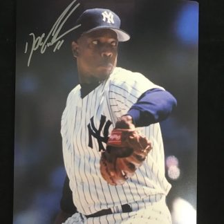 New York Yankees Dwight Gooden Autographed 8 x 10