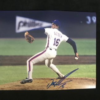 New York Mets Dwight Gooden Autographed 8 x 10