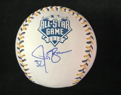 Cincinnati Reds Jay Bruce Autographed ball