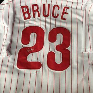 Philadelphia Phillies Jay Bruce Autogrphed Jersey