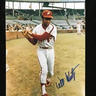 Philadelphia Phillies Willie Montanez Autographed 8 x 10