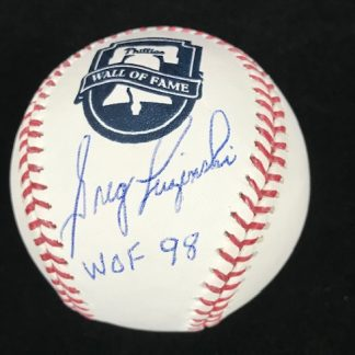 Philadelphia Phillies Greg Luzinski Autographed ball