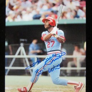 St. Louis Cardinals Lonnie Smith Autographed Photo