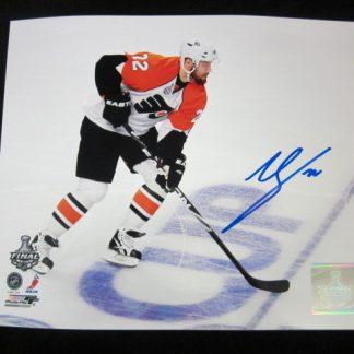 Philadelphia Flyers Ville Leino Autographed Photo