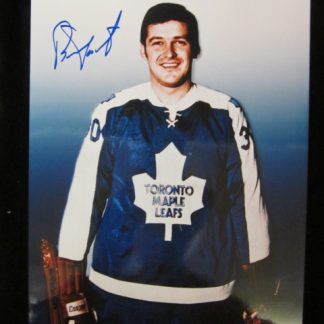 Toronto Maple Leafs Bernie Parent Autographed Photo