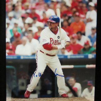 Philadelphia Phillies Matt Stairs Autographed Photo