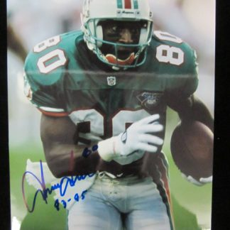 Miami Dolphins Irving Fryar Autographed Photo