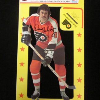 Philadelphia Flyers Dave Schultz Autographed Cardboard Stand-Up