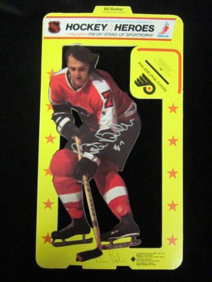 Philadelphia Flyers Bill Barber Autographed Cardboard Stand-Up