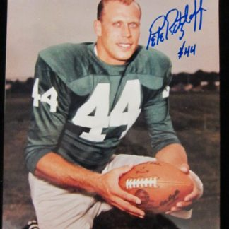 Philadelphia Eagles Pete Retzlaff Autographed Photo