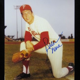 Philadelphia Phillies Rick Wise Autographed Photo