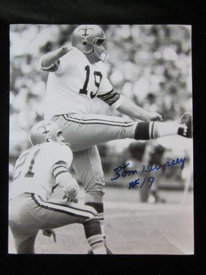 New Orleans Saints Tom Dempsey Autographed Photo
