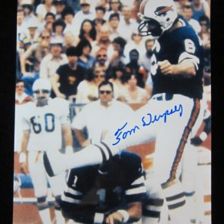 Buffalo Bills Tom Dempsey Autographed Photo