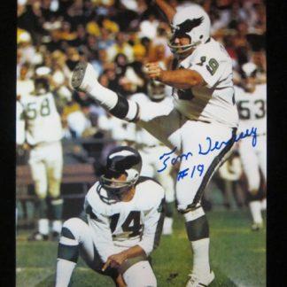 Philadelphia Eagles Tom Dempsey Autographed Photo
